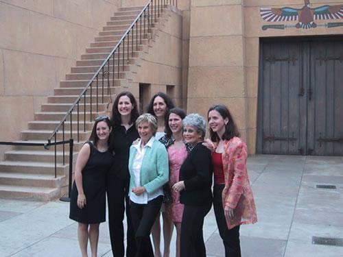 5 sisters, Cloris and Gloria DeHaven